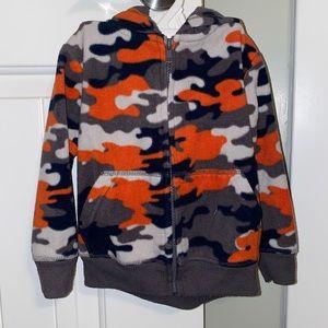 Garanimals camo zip up hoodie jacket 24M
